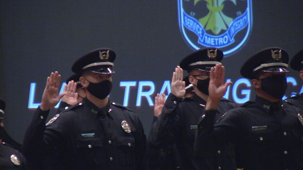 28 new LMPD officers sworn in amid department shortage