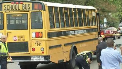 UPDATE | Three students hospitalized after being hit by SUV while waiting to board JCPS bus identified