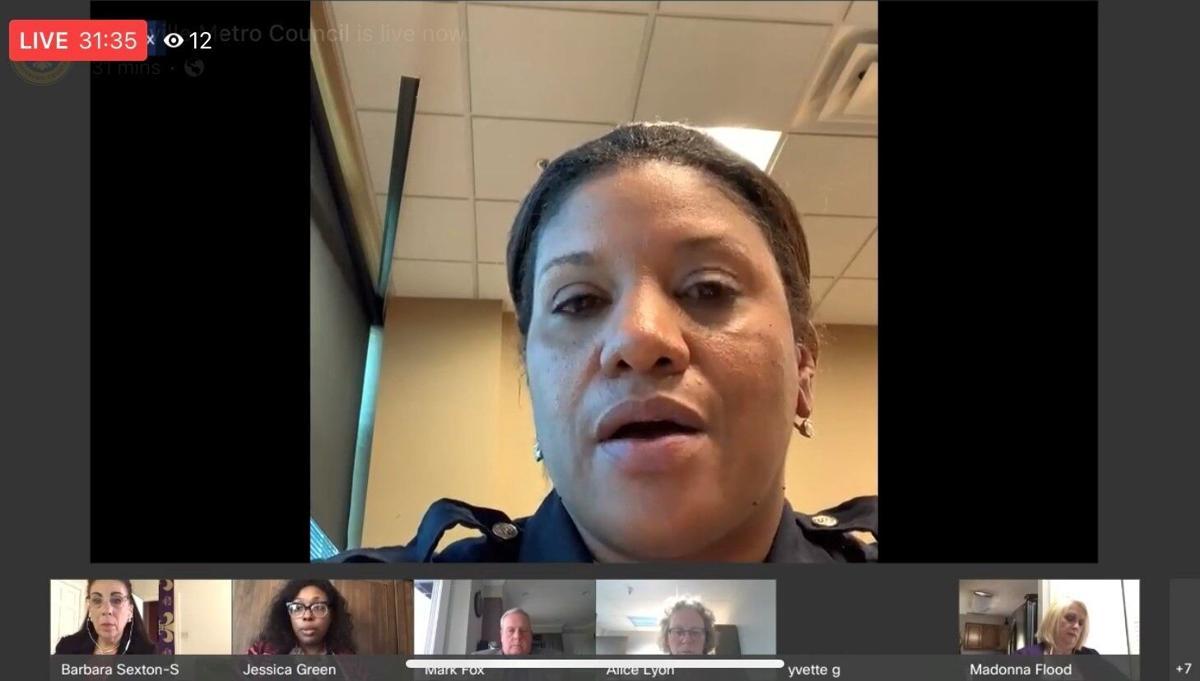 LMPD Interim Chief Yvette Gentry