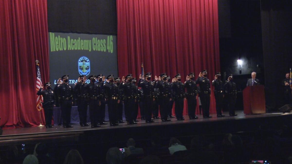 LMPD swears in 28 new officers