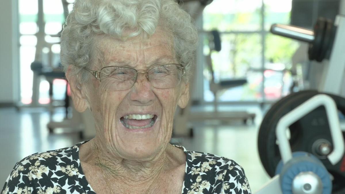 Juanita Hofer turns 100 1