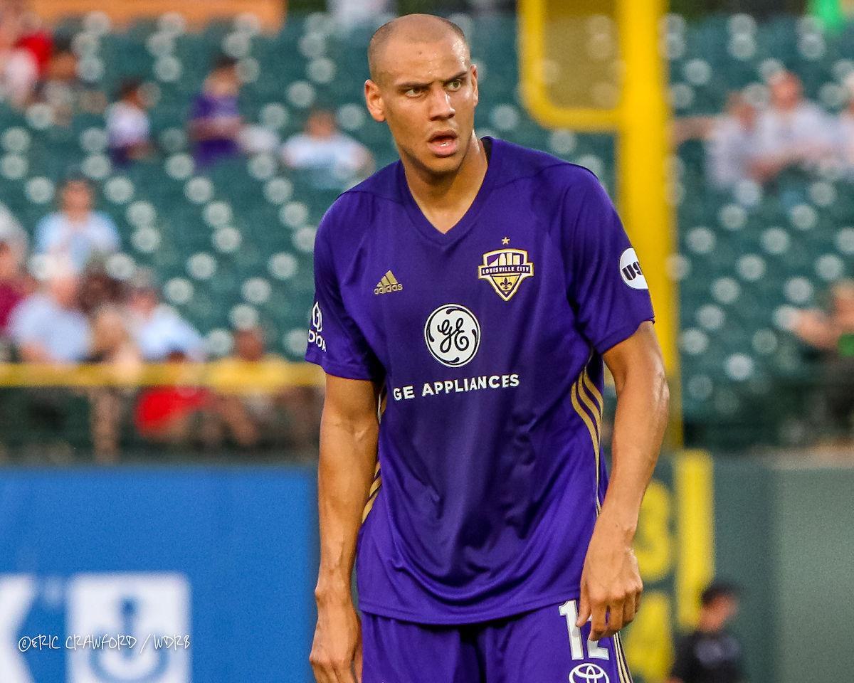 Luke Spencer Louisville City soccer
