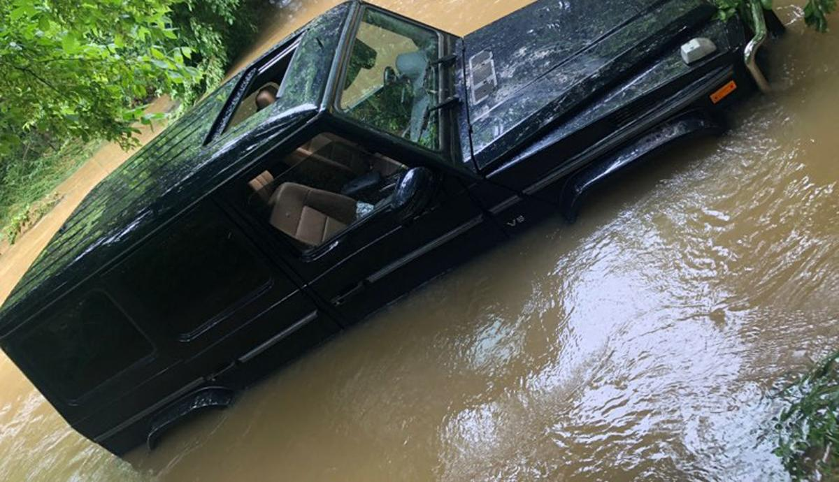 Vehicle swept off a bridge in fatal Spencer County flooding accident - June 17, 2019