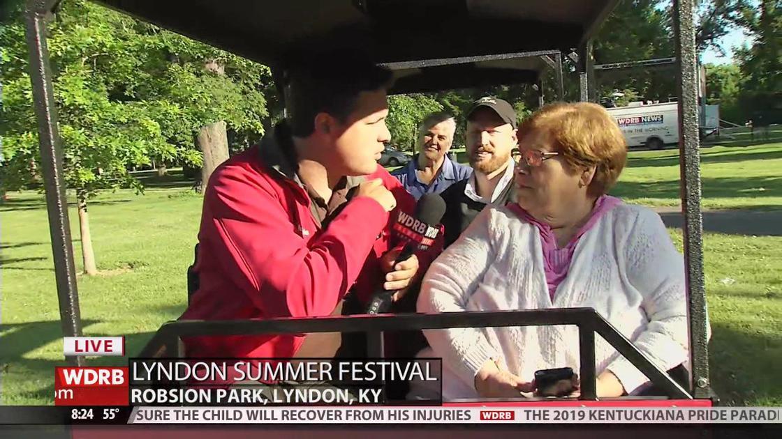 Ride the train at the Lyndon Summer Festival | | wdrb com