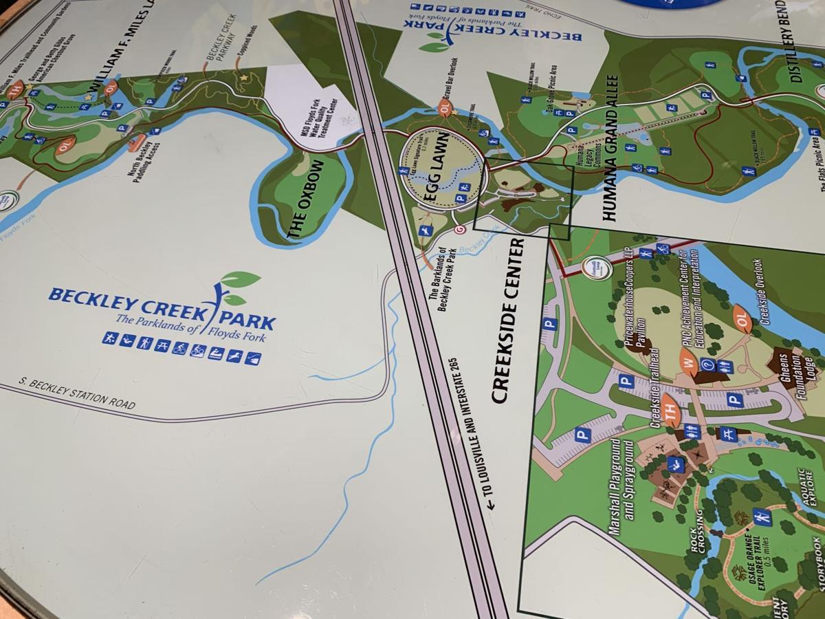 Parklands of Floyd Fork Map