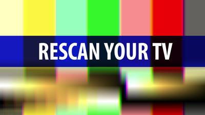 Rescan Your TV over Color Bars