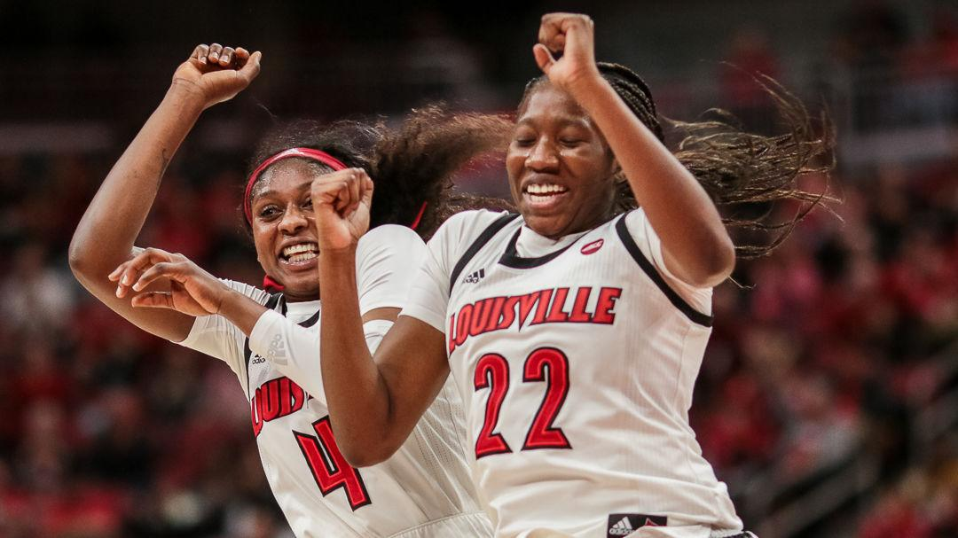 CRAWFORD | Louisville women get going early, cruise to 83-49 blowout win over Pitt