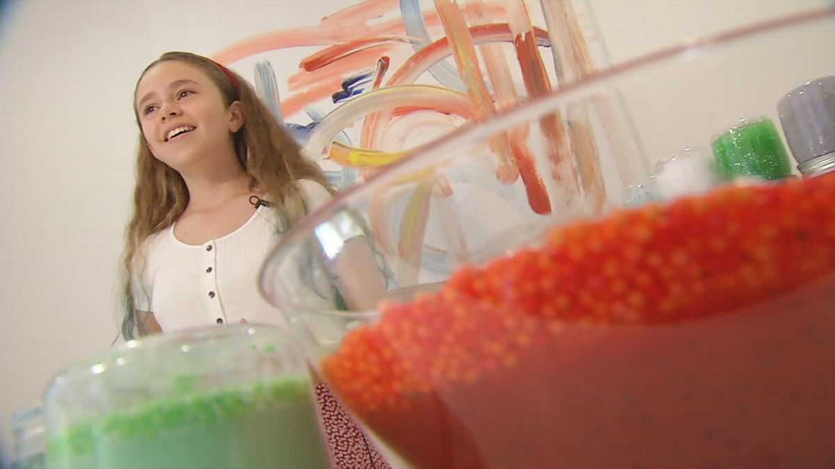 Louisville 11-year-old turns slime hobby into business