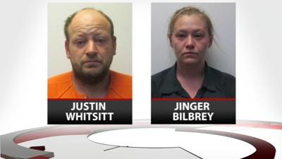 Jinger Bilbrey and Justin Whitsitt