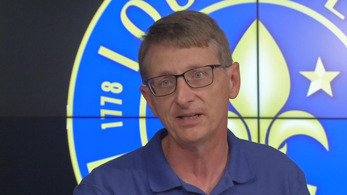 National Weather Service Meteorologist John Gordon