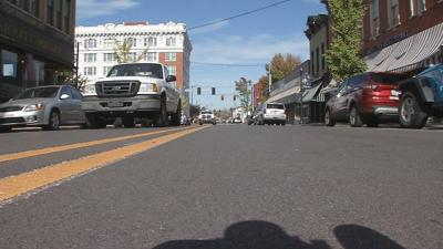 Project to bring 2-way streets to downtown New Albany nearing completion