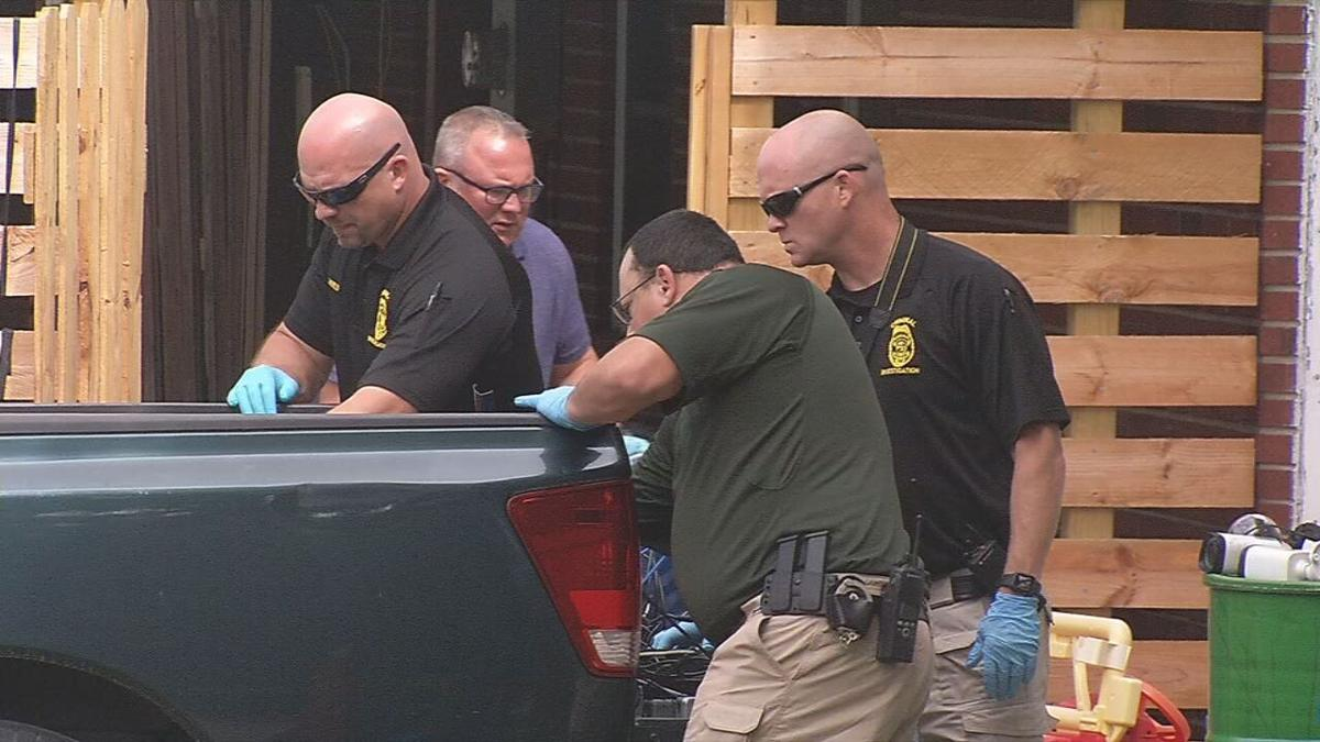 New Albany Police gather evidence at Hoover home-9-1-20.jpeg