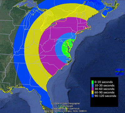 NASA ROCKET LAUNCH On May 8th Visible In Eastern United States...