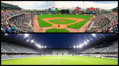 Louisville Slugger Field and Lynn Family Stadium