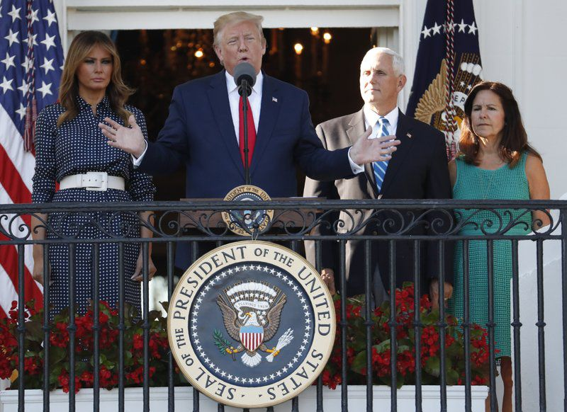 Trump-Pence during Congressional Picnic