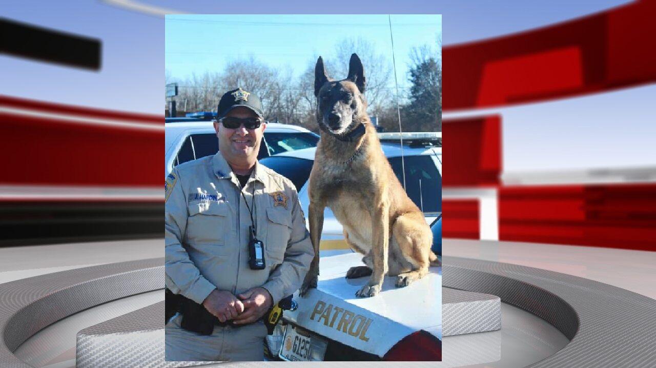 Former K-9 officer for Nelson County Sheriff's Office dies