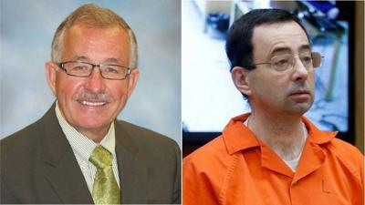 Michigan State dean charged with storing nude photos and failing to monitor Larry Nassar