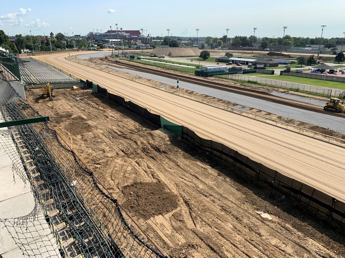 Churchill Downs construction