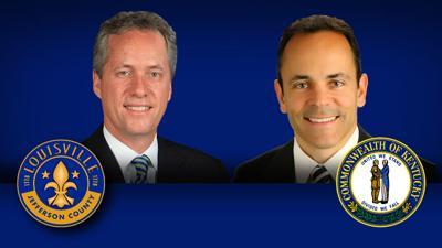 Gov  Bevin and Mayor Fischer exchange testy tweets over