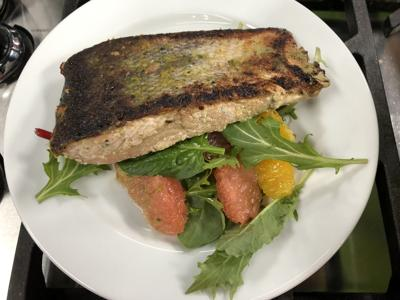 pan roasted salmon 3-18-19