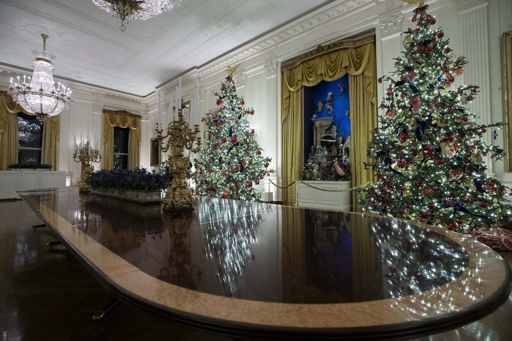 WHITE HOUSE- CHRISTMAS DECORATIONS - PATRIOTISM - 12-2-19 1.jpeg
