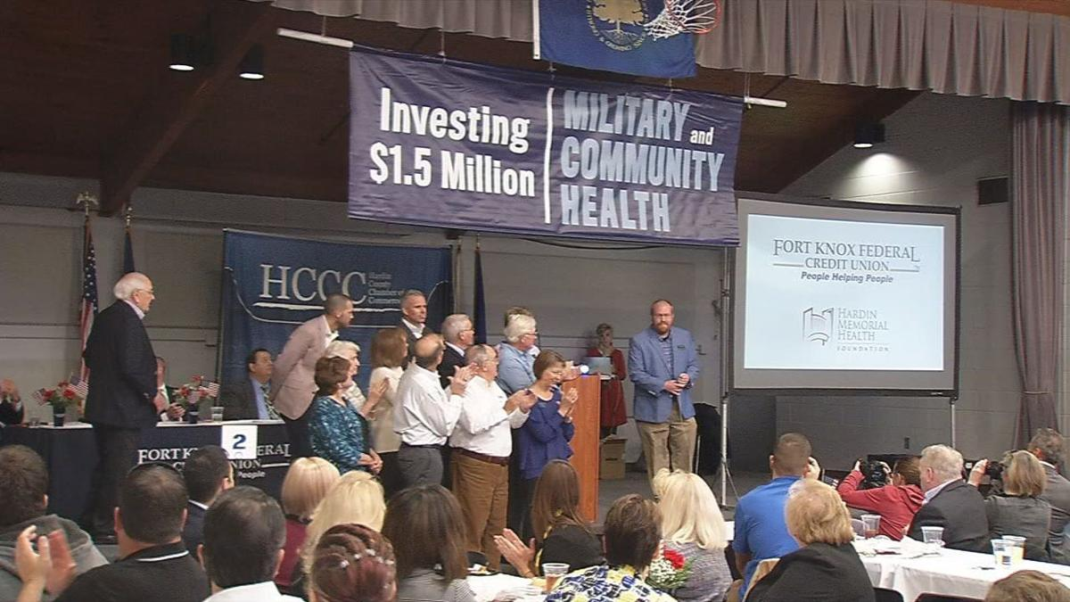 $1.5 million investment in Hardin Memorial Family Clinic by Fort Knox Federal Credit Union (Nov. 12, 2019)