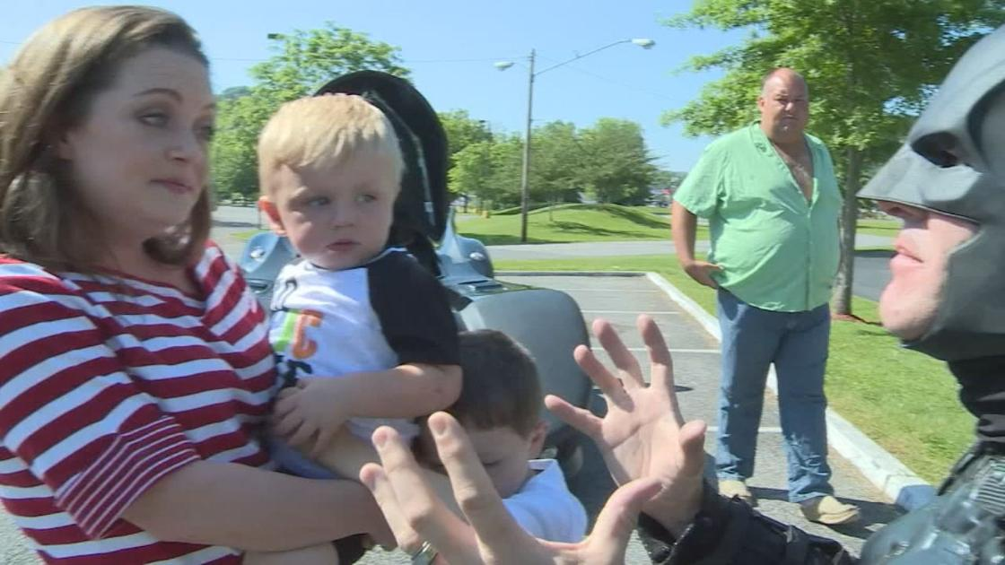 Superhero welcomes home toddler who went missing in eastern Kentucky