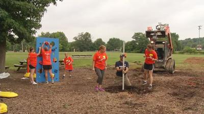2 local YMCA locations begin construction on new playgrounds