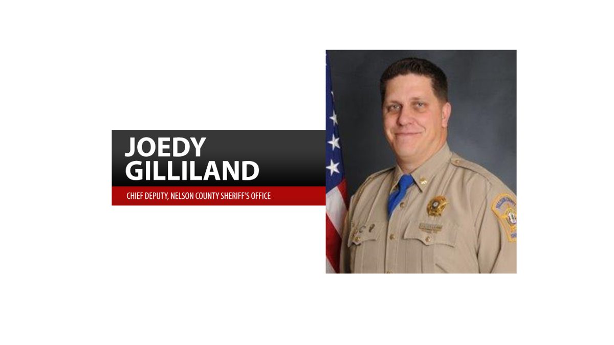 Chief Deputy Joedy Gilliland