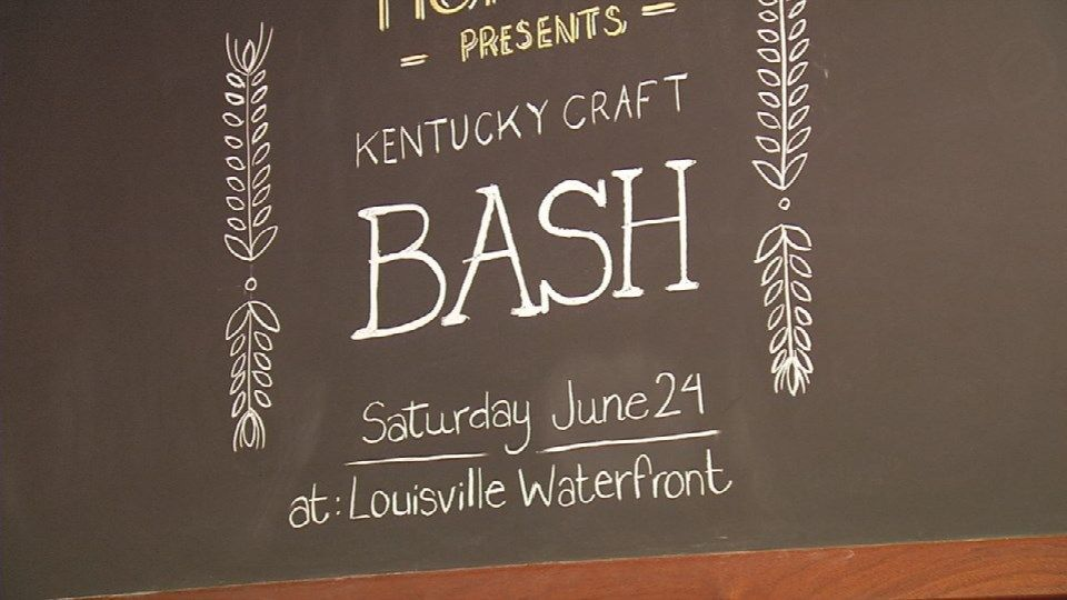 IMAGES   Thousands of beer drinkers converging on Waterfront Park for Saturday's Kentucky Craft Bash