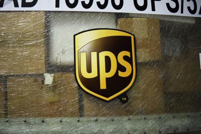 UPS logo on container 2017 generic