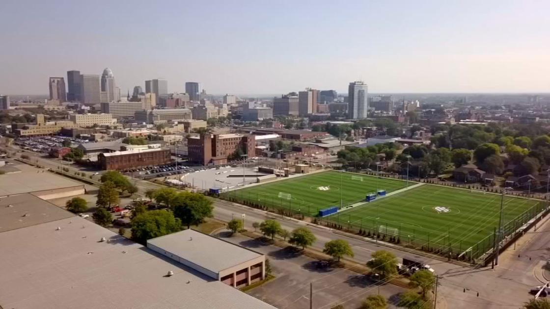 Spalding University soccer teams begin practicing on new soccer fields