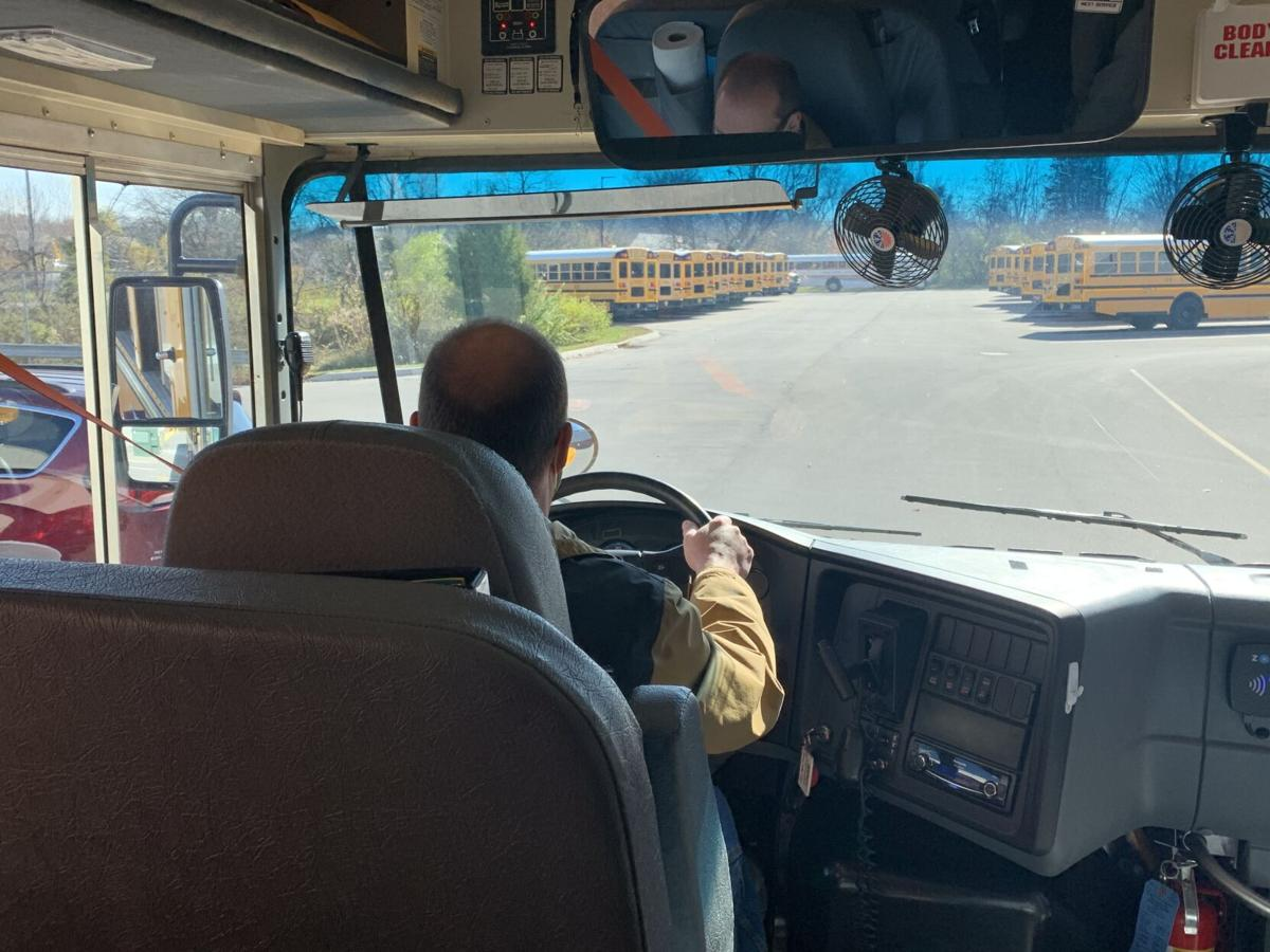 Transportation officials in southern Indiana drive buses to help with shortage amid pandemic