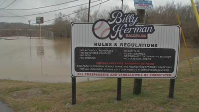Billy Herman Ballpark Flooded New Albany