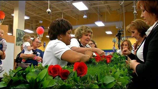 Garland of Roses for 140th Kentucky Derby under construction