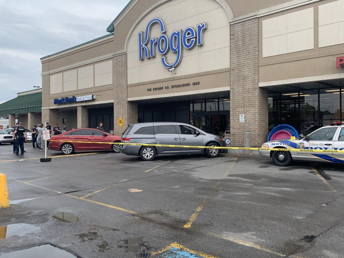 Man found shot at Kroger on W. Broadway 2