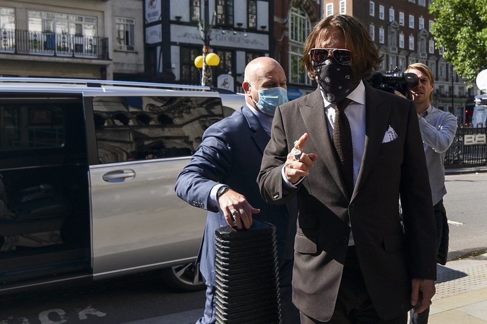 JOHNNY DEPP - COURT CASE LONDON - AP 7-10-2020 1.jpeg