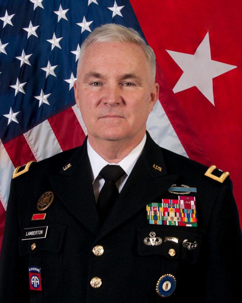 Brig. Gen. Hal Lamberton, Kentucky's adjutant general