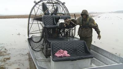 Airboat rescues Indiana