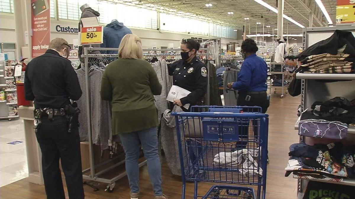 LMPD shops for Newburg students