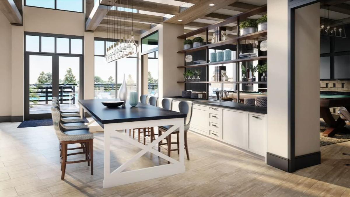 Upton Oxmoor Kitchen Area