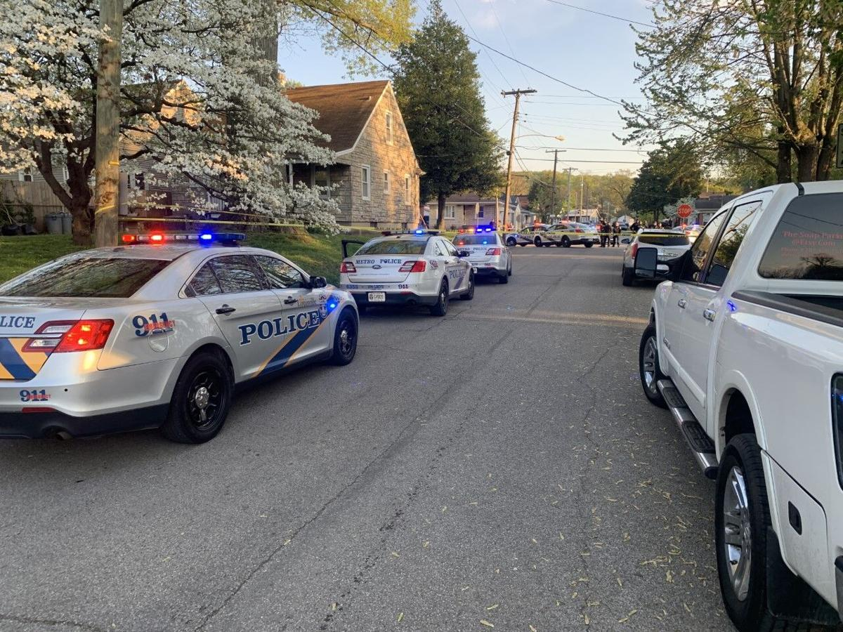 Louisville Metro Police respond to shooting (4/21/21) at 4305 Lonsdale Ave.