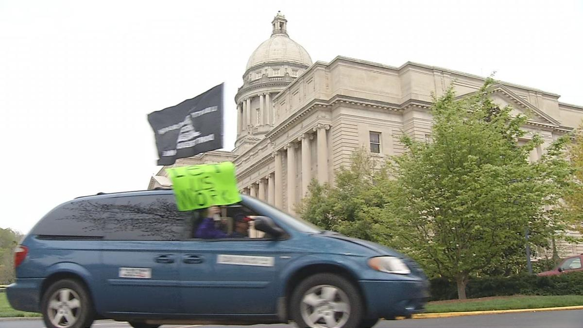 Kentucky Capitol Protest 04/17/20
