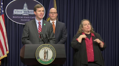 Andy Beshear Newser - 3-12-20