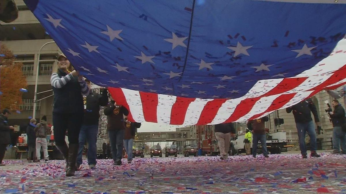 Louisville Veterans Day Parade honors those who have served