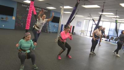 Bungee fitness class jumps into southern Indiana