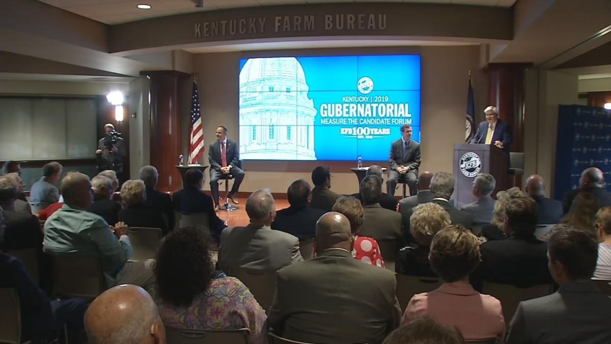 Gubernatorial forum between Matt Bevin and Andy Beshear on July 17, 2019