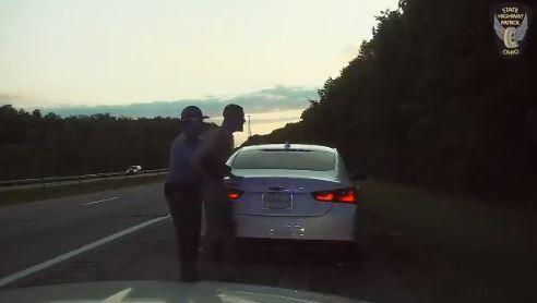 police saves man choking.JPG