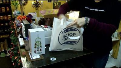 Shoppers support local stores for 'Small Business Saturday'