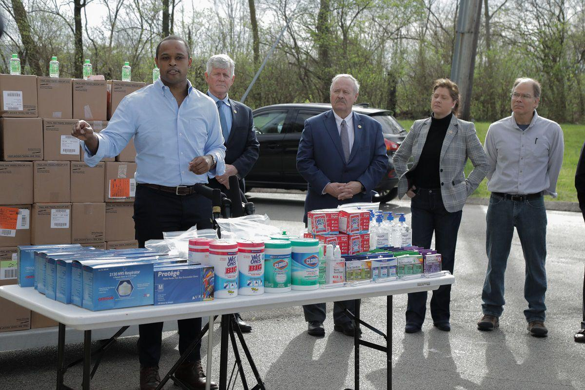 Kentucky Attorney General Daniel Cameron among goods seized in price gouging scheme (March 20, 2020)